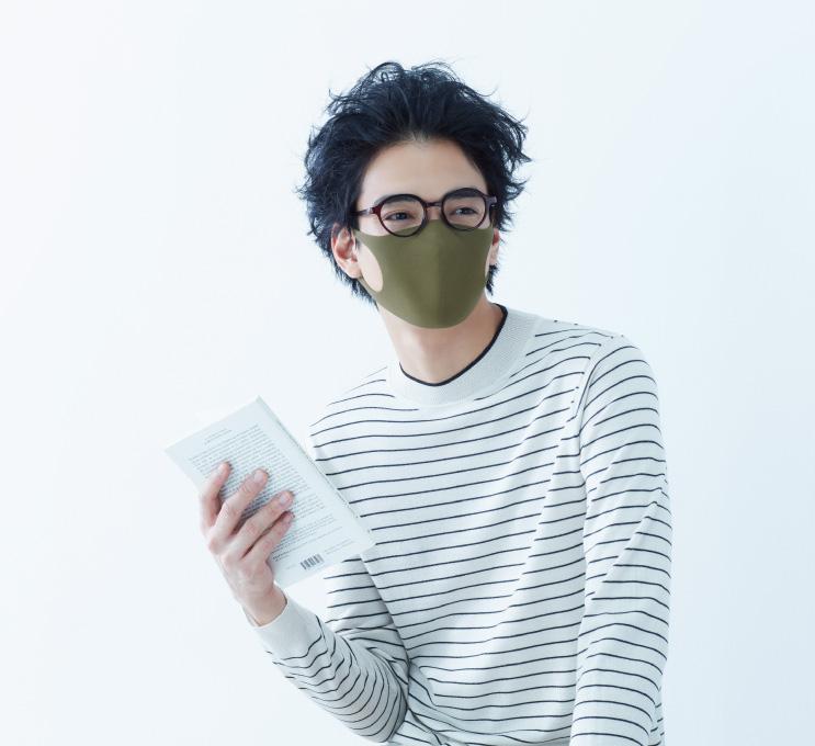 カーキ ピッタ マスク